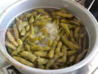 下酒菜五香水煮毛豆