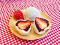 美味的草莓大福