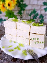 美味营养的自制豆腐