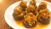 美味的香菇酿肉
