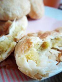 自己做的绿豆饼