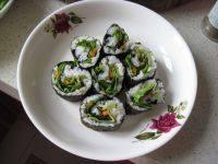 自制生菜寿司