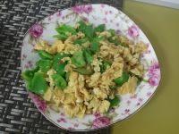 家常菜鸡蛋炒青椒