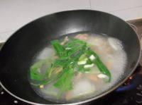 香喷喷的三鲜汤
