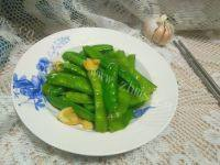 家常菜清炒荷兰豆