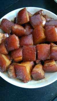 美味的东坡肉