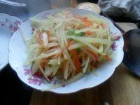 好味的胡萝卜土豆丝