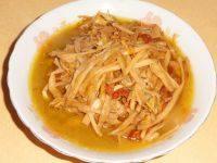家常菜肉炒黄花菜