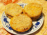 自己做的紫薯南瓜饼