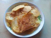 自制油炸原味土豆片