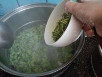 自己做的韭菜面片