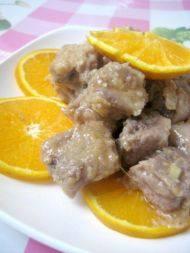 家常菜橙香排骨