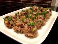 家常菜香菇肉丸