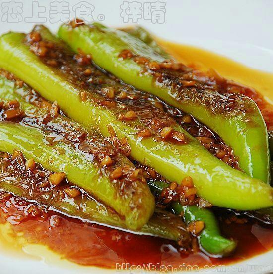 超美味的虎皮尖椒