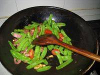 家常菜培根荷兰豆