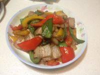 家常菜青椒回锅肉