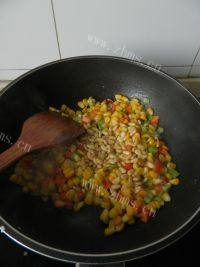 美味的松子玉米