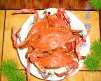 自制蒸螃蟹