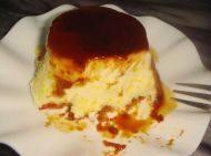 自制焦糖布丁蛋糕