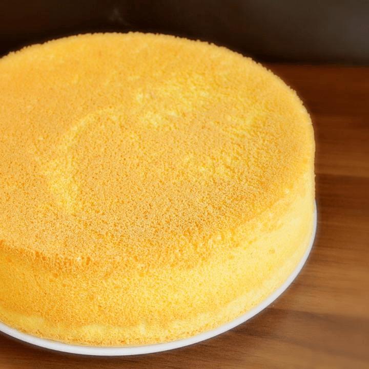 口感极佳的戚风蛋糕