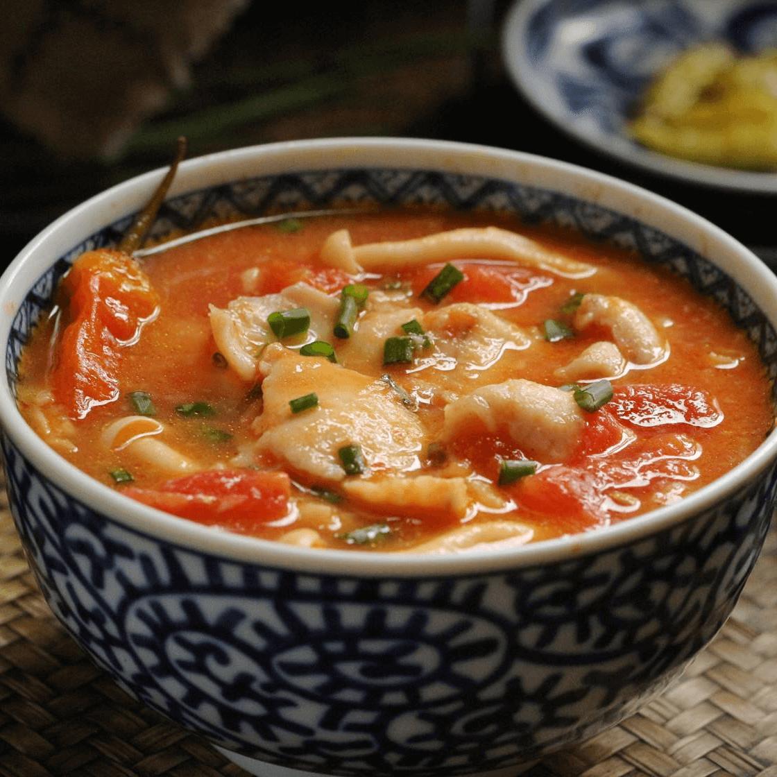 浓香的番茄鱼片