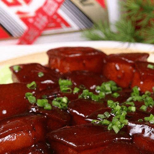 营养丰富的红烧肉