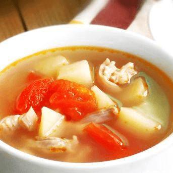 土豆番茄羊肉汤