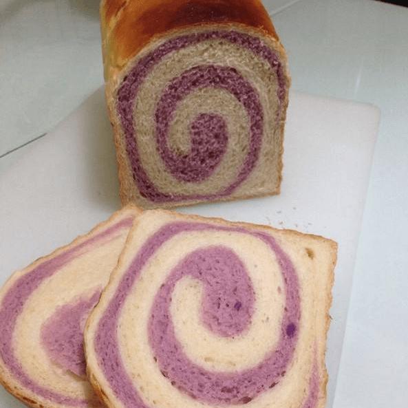 自制紫薯吐司