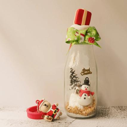 星巴克瓶装星冰乐圣诞限量款来袭,用心填满节日星愿