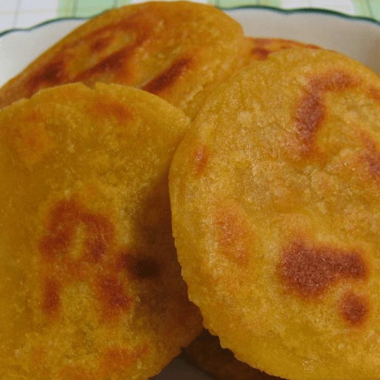 香喷喷的南瓜饼