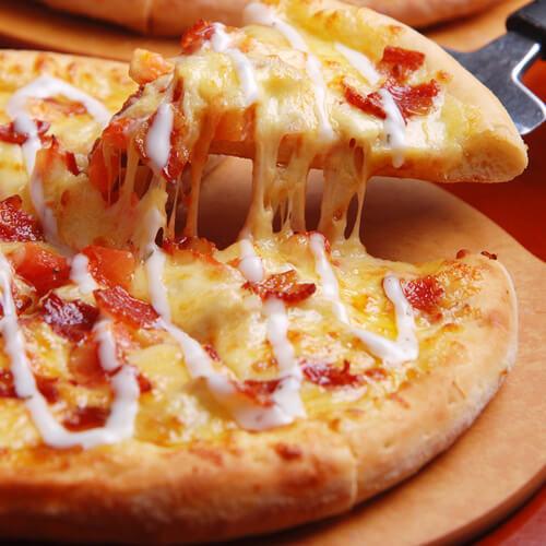 来自普罗旺斯的诱惑——培根比萨