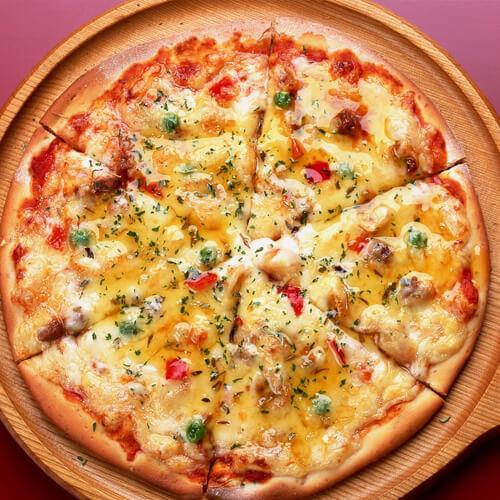 美美厨房之披萨