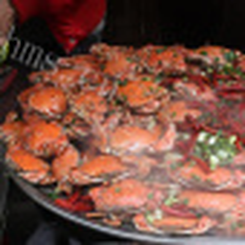 蒸螃蟹(原创)