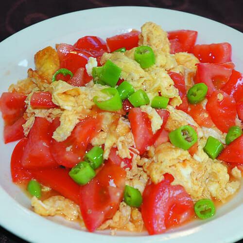 香气浓郁的西红柿炒鸡蛋
