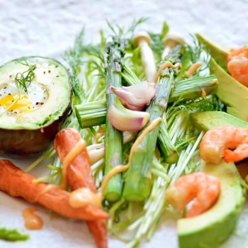 家庭蔬菜沙拉