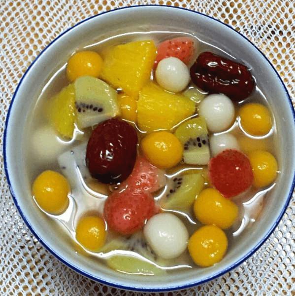 美味的水果小汤圆