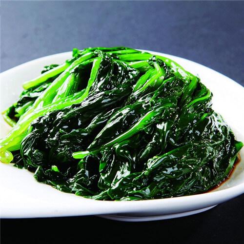 凉拌菠菜(懒人版)