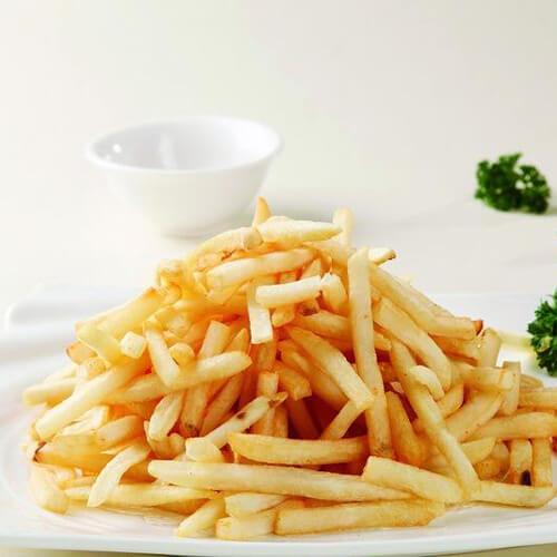 简易的自制薯条