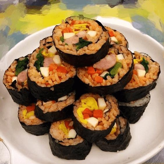 自制反转寿司