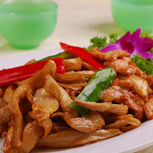 杏鲍菇炒肉(家庭版)
