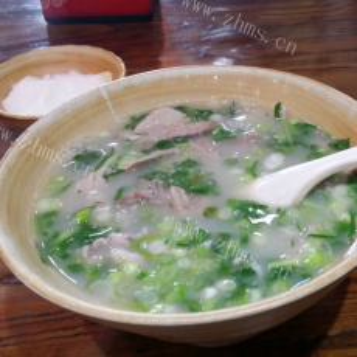 美味的羊肉汤