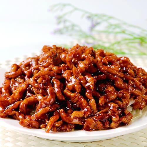 美味营养的京酱肉丝