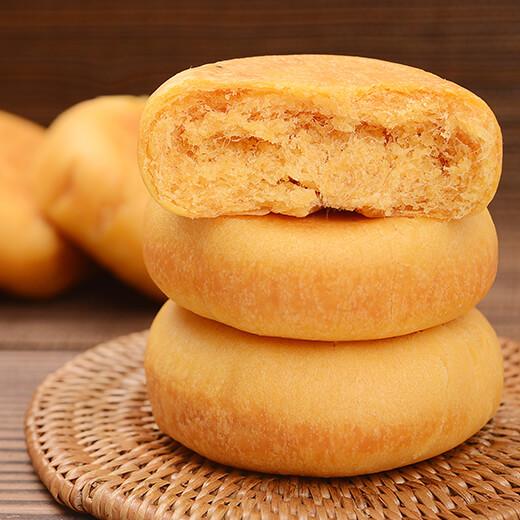 美味海苔肉松早餐饼