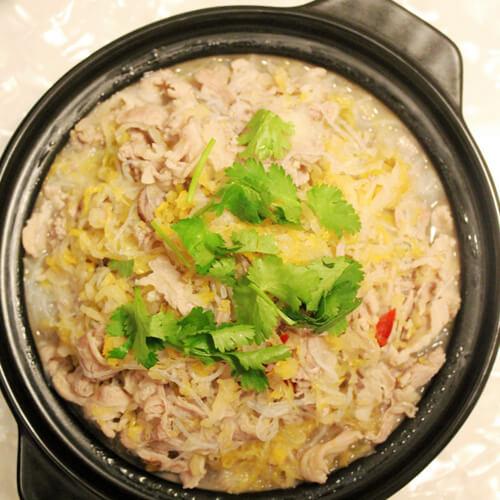 砂锅羊肉粉丝煲
