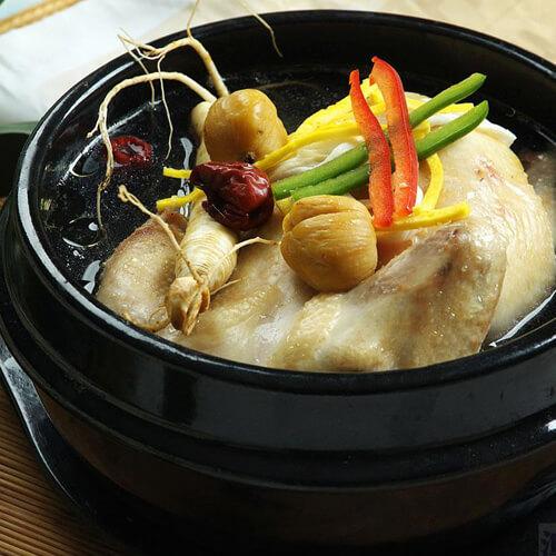 补气杂粮参鸡汤