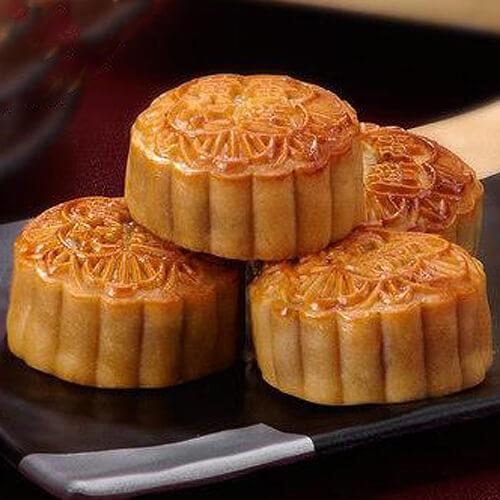 酥皮红豆沙月饼