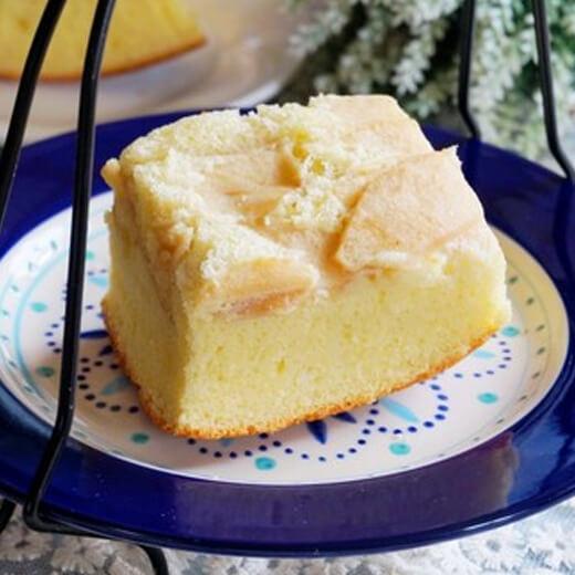 健康美味无油酸奶苹果蛋糕