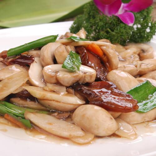 #爱美食#炒蘑菇