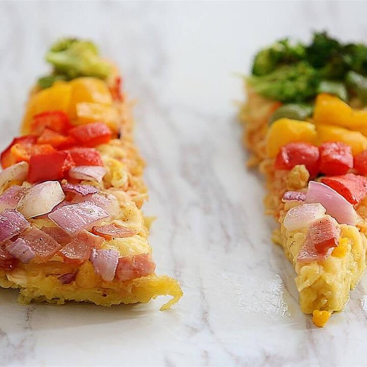 康师傅泡面披萨