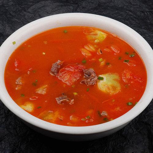 #营养美食#西红柿牛腩汤